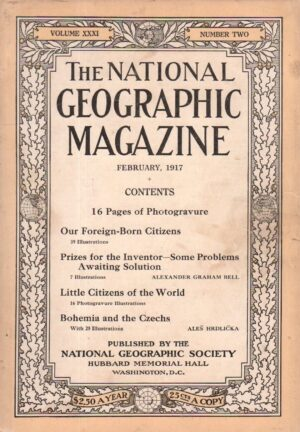 National Geographic February 1917-0