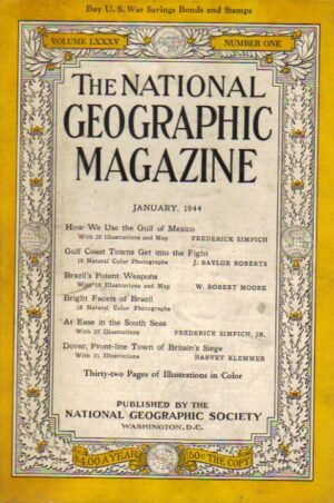 National Geographic January 1944-0