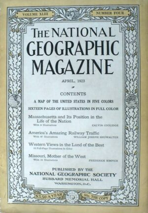 National Geographic April 1923-0