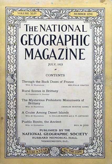 National Geographic July 1923-0