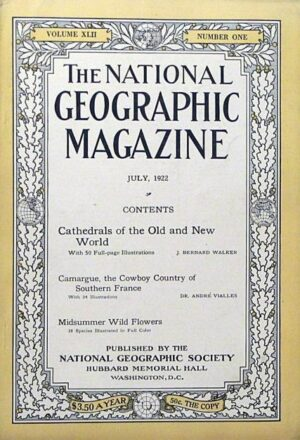 National Geographic July 1922-0