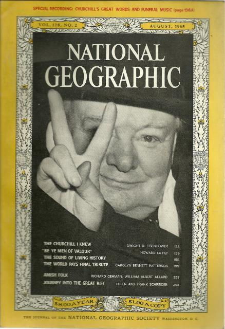 National Geographic August 1965-0