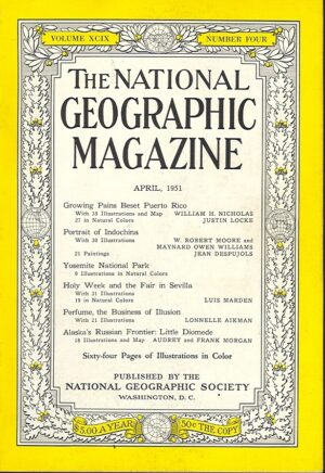 National Geographic April 1951-0