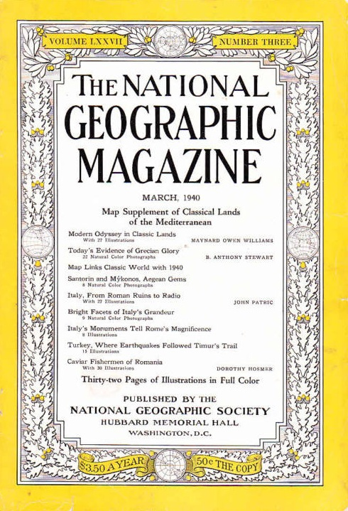 National Geographic March 1940-0