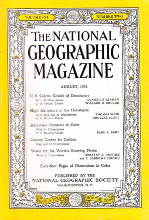 National Geographic August 1952-0