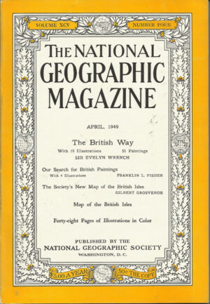 National Geographic April 1949-0