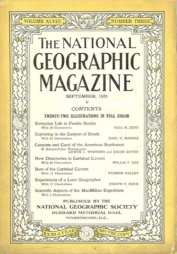 National Geographic September 1925-0