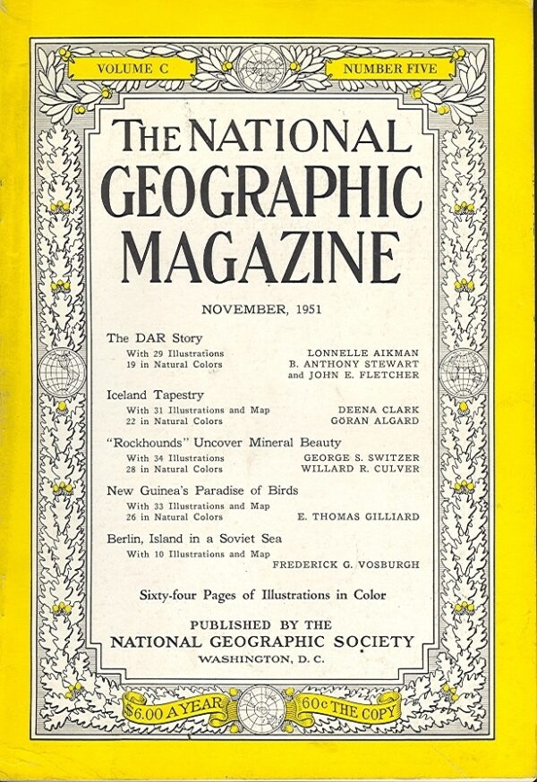National Geographic November 1951-0
