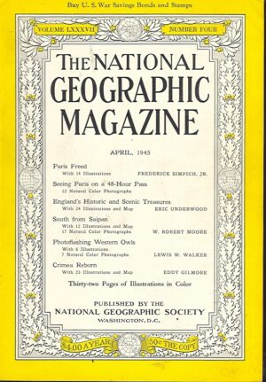 National Geographic April 1945-0