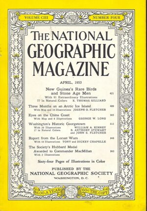 National Geographic April 1953-0