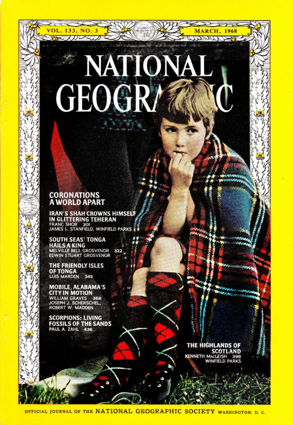 National Geographic March 1968-0