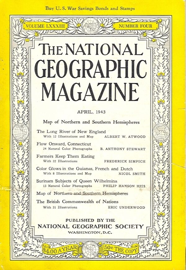 National Geographic April 1943-0