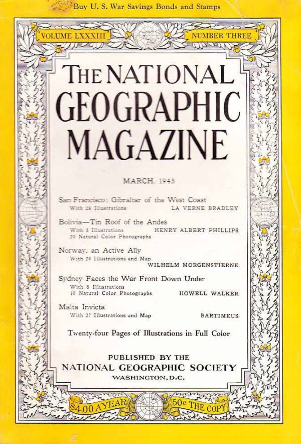 National Geographic March 1943-0