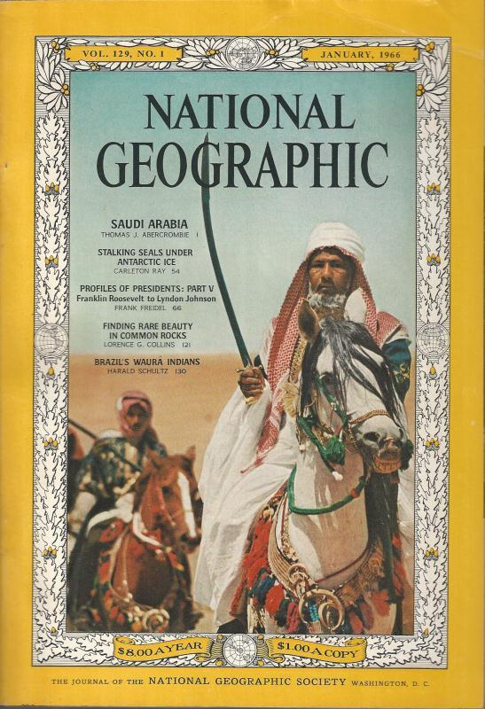 National Geographic January 1966