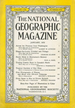 National Geographic January 1953-0