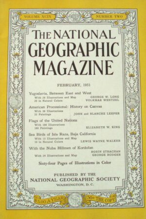 National Geographic February 1951-0