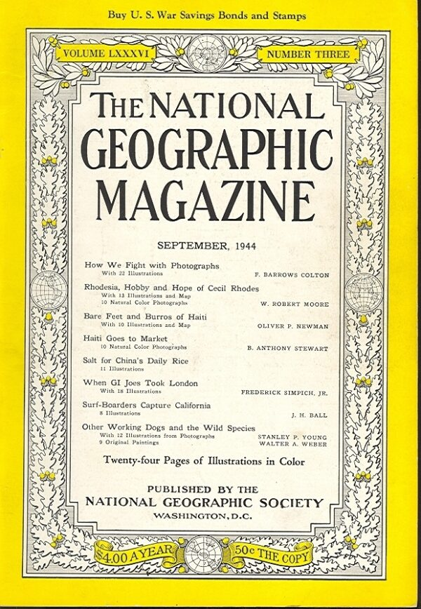 National Geographic September 1944-0
