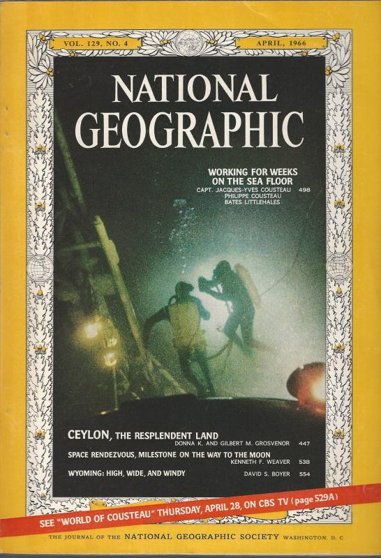 National Geographic April 1966-0