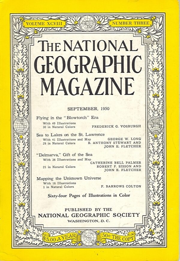 National Geographic September 1950-0