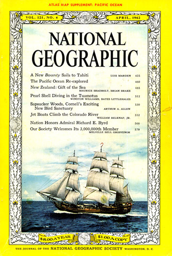 National Geographic April 1962-0