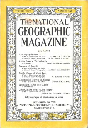 National Geographic July 1948-0