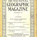National Geographic November 1922-0