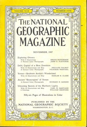 National Geographic November 1947-0