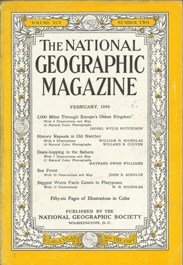 National Geographic February 1949-0