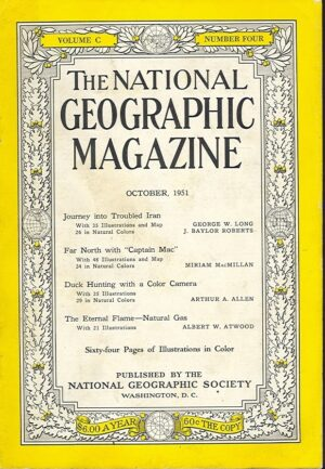 National Geographic October 1951-0
