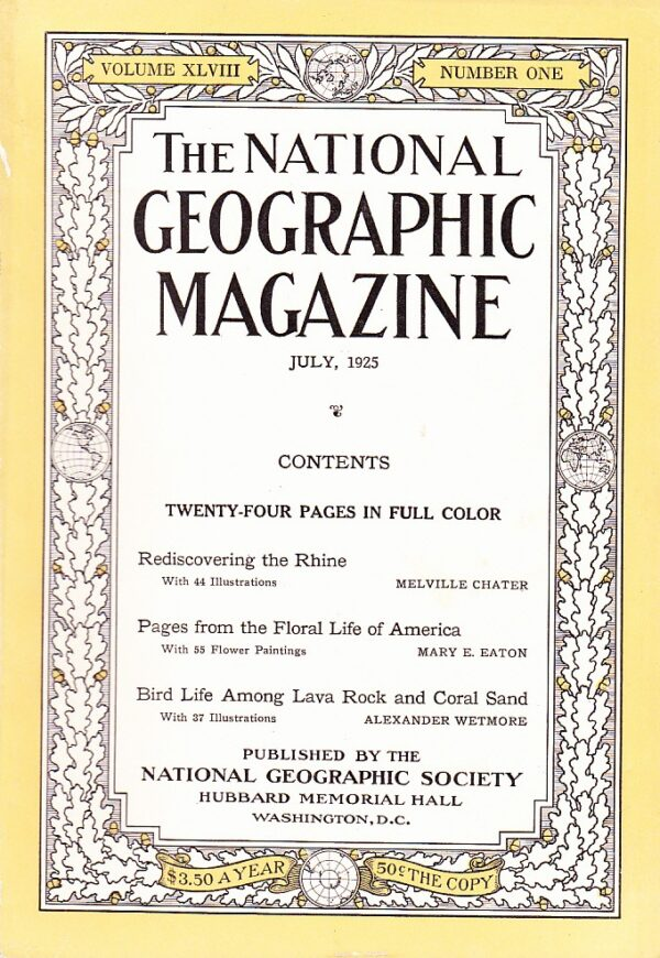 National Geographic July 1925-0
