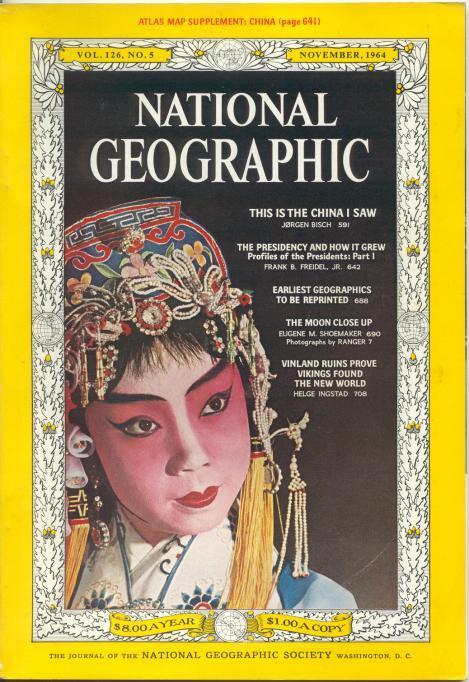 National Geographic November 1964-0