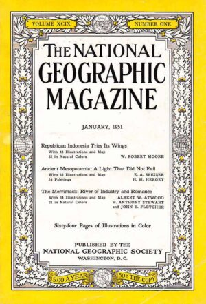 National Geographic January 1951-0