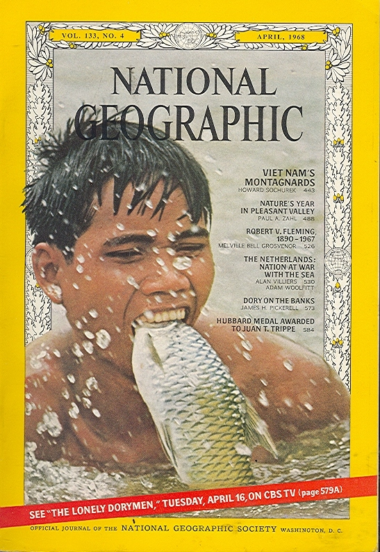National Geographic April 1968-0