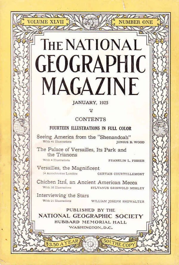 National Geographic January 1925-0