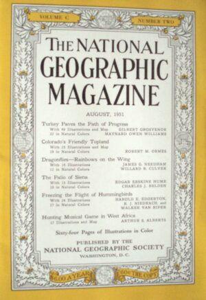 National Geographic August 1951-0