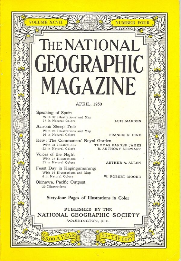 National Geographic April 1950-0