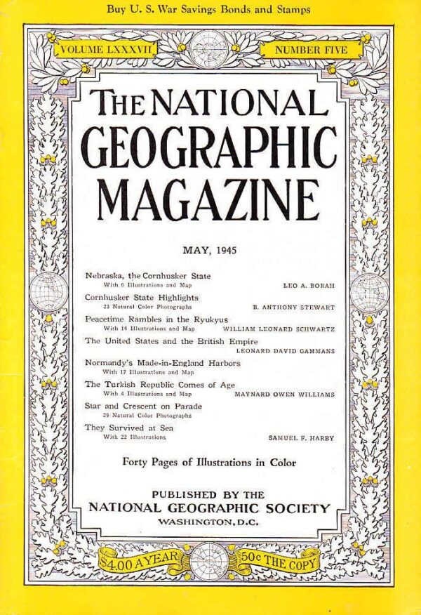National Geographic May 1945-0