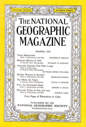 National Geographic March 1946-0