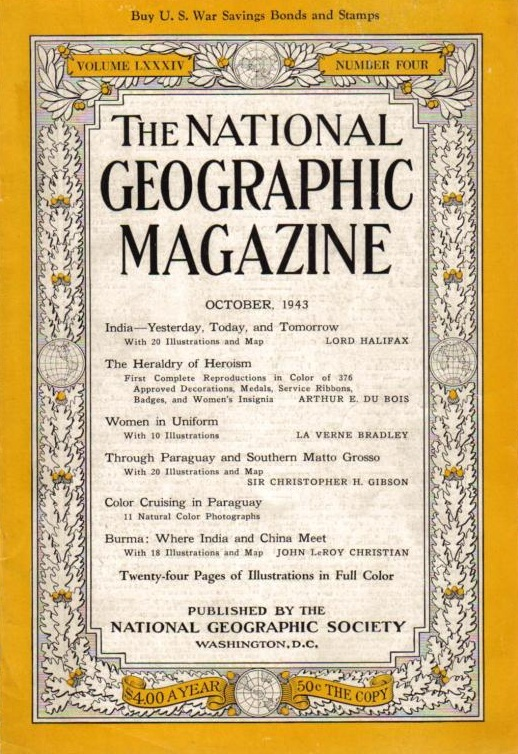 National Geographic October 1943-0