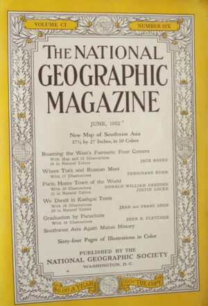 National Geographic June 1952-0
