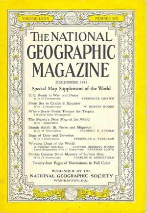 National Geographic December 1941-0