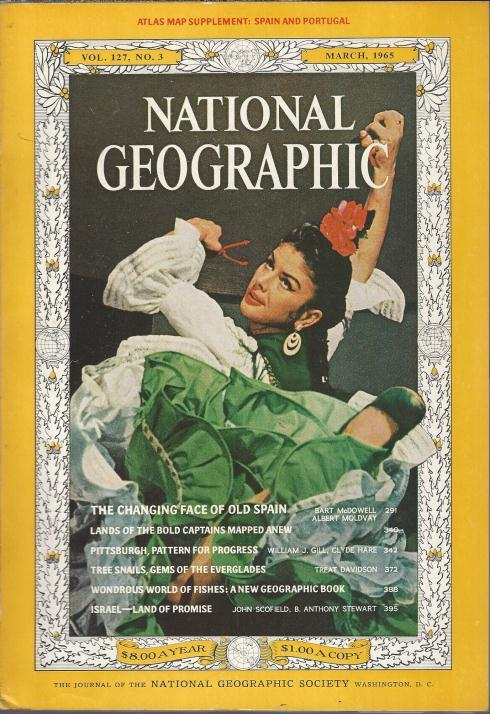 National Geographic March 1965-0