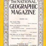 National Geographic March 1944-0