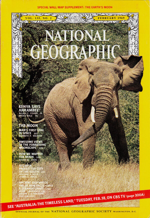 National Geographic February 1969-0