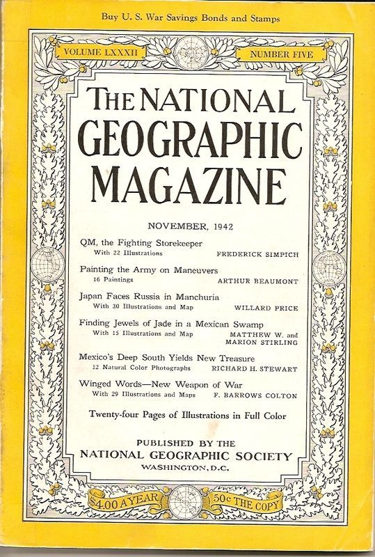 National Geographic November 1942-0