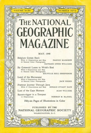 National Geographic May 1948-0