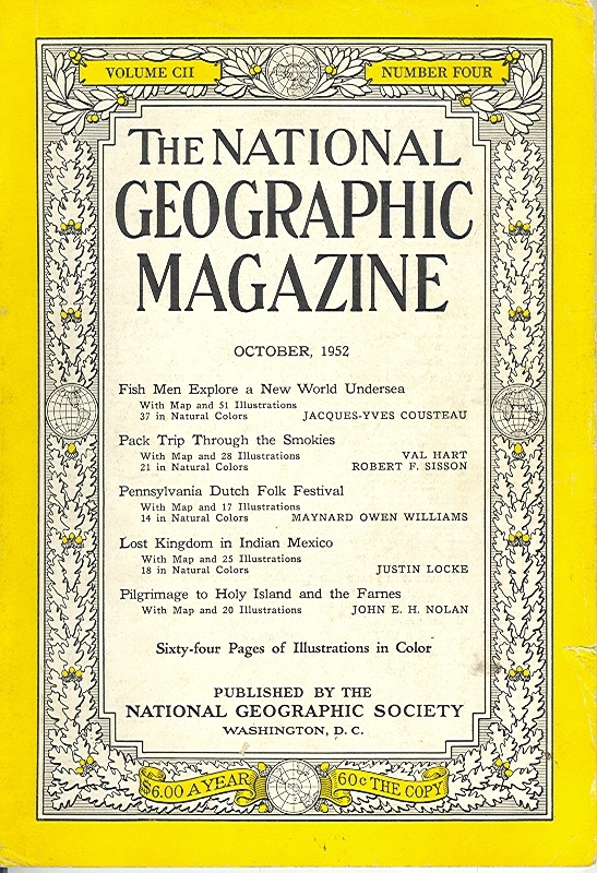 National Geographic October 1952-0