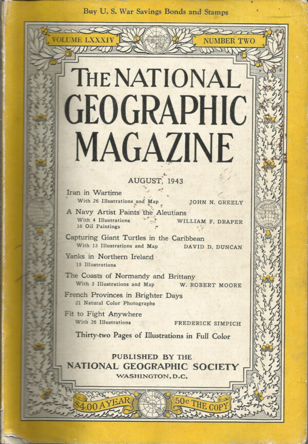 National Geographic August 1943-0
