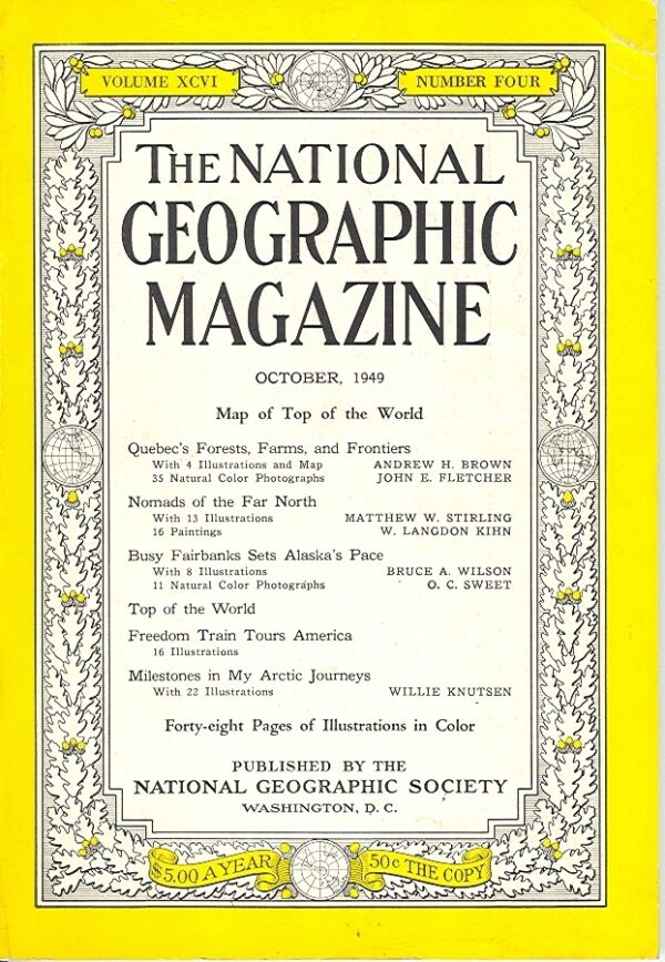 National Geographic October 1949-0