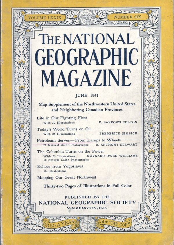 National Geographic June 1941-0